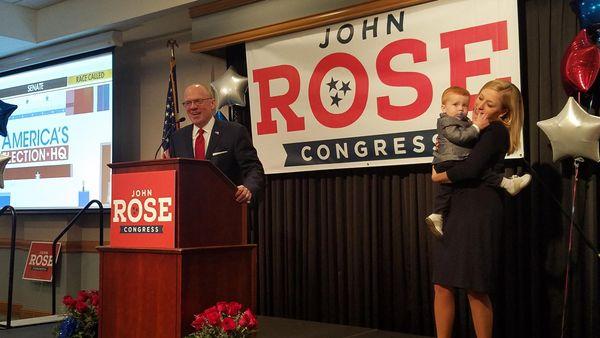 Republican John Rose wins House Seat