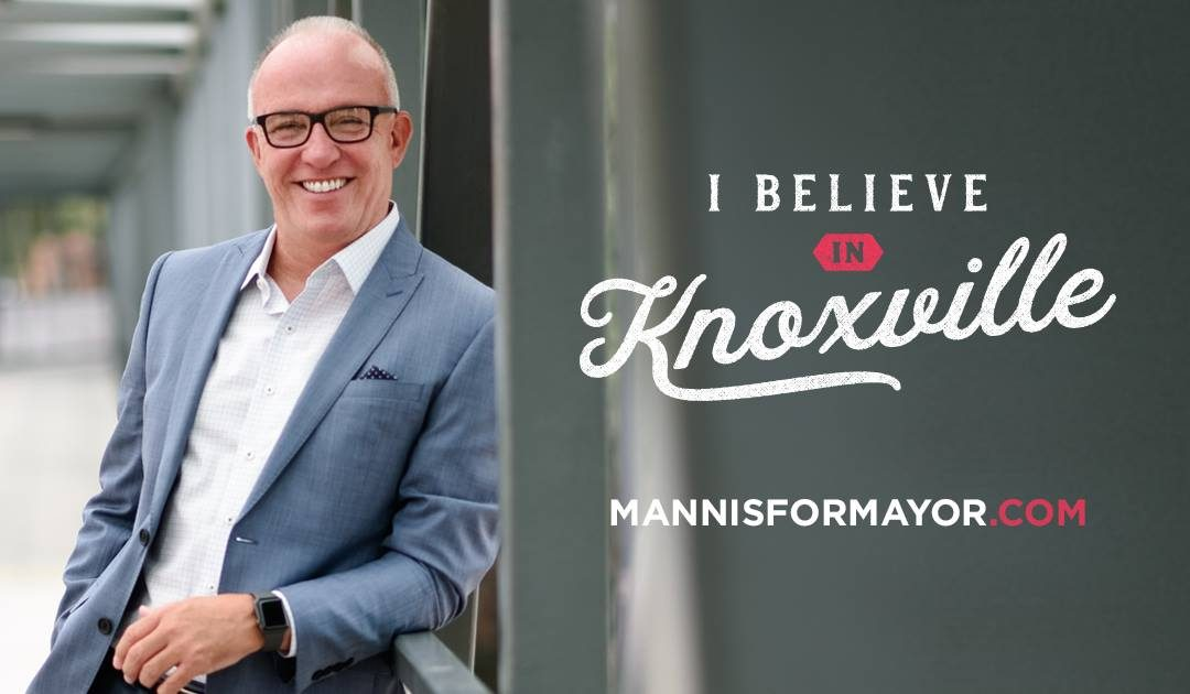 """Knoxville Mayor Candidate Eddie Mannis """"Running Away"""" With Fundraising"""